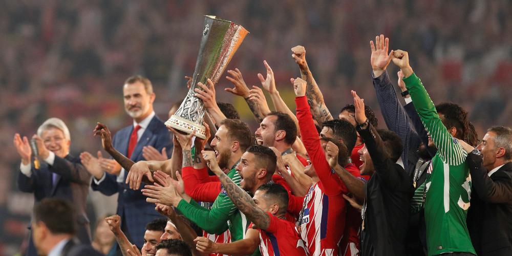 Πανάξια το τρόπαιο του Europa League η Ατλέτικο Μαδρίτης d605730da95