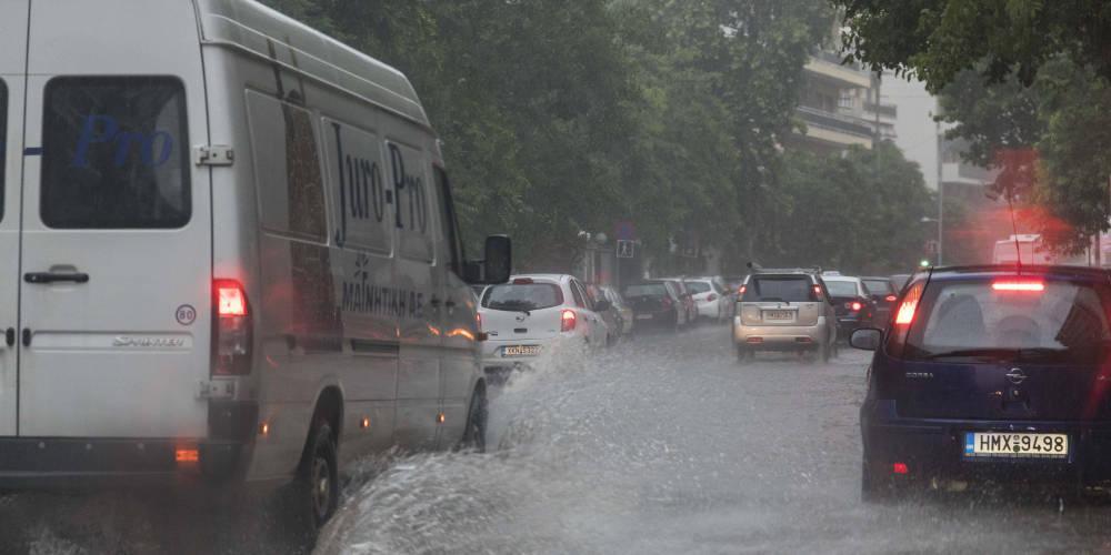 Πρόγνωση καιρού: Βροχές, καταιγίδες και μποφόρ τις επόμενες ημέρες