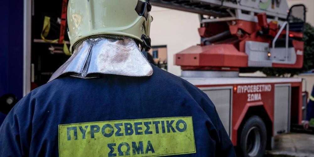 Φωτιά στον Νέο Βουτζά – Άμεση επέμβαση της Πυροσβεστικής