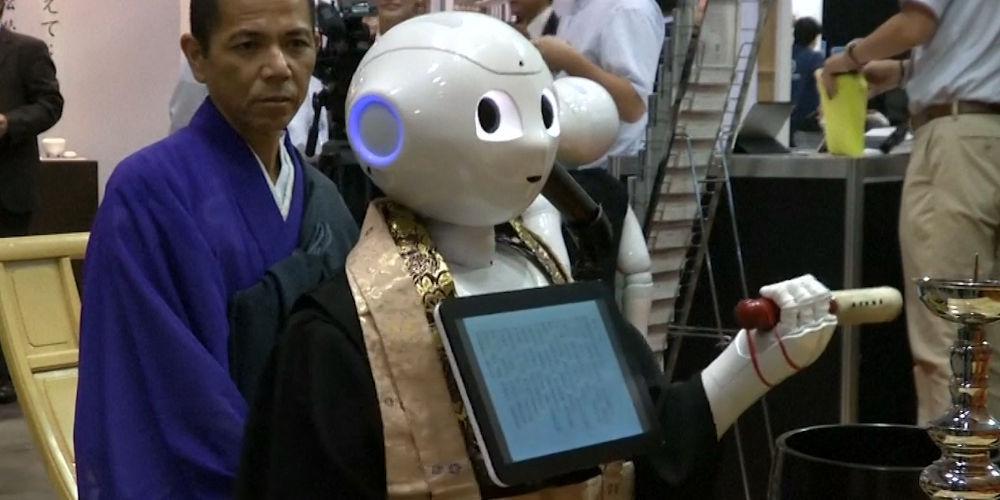 Το μέλλον των κηδειών με ιαπωνική σφραγίδα: Ένα ρομπότ-ιερέας!