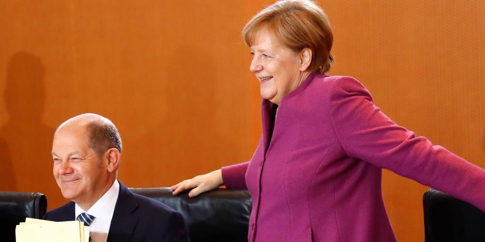 Γερμανικά ΜΜΕ: Ο Σολτς είναι συνεχιστής του έργου του Σόιμπλε