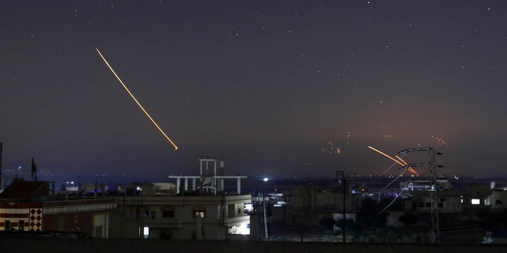 Ρωσικά αεροσκάφη εξαπέλυσαν επιδρομές στο νότιο τμήμα της Συρίας