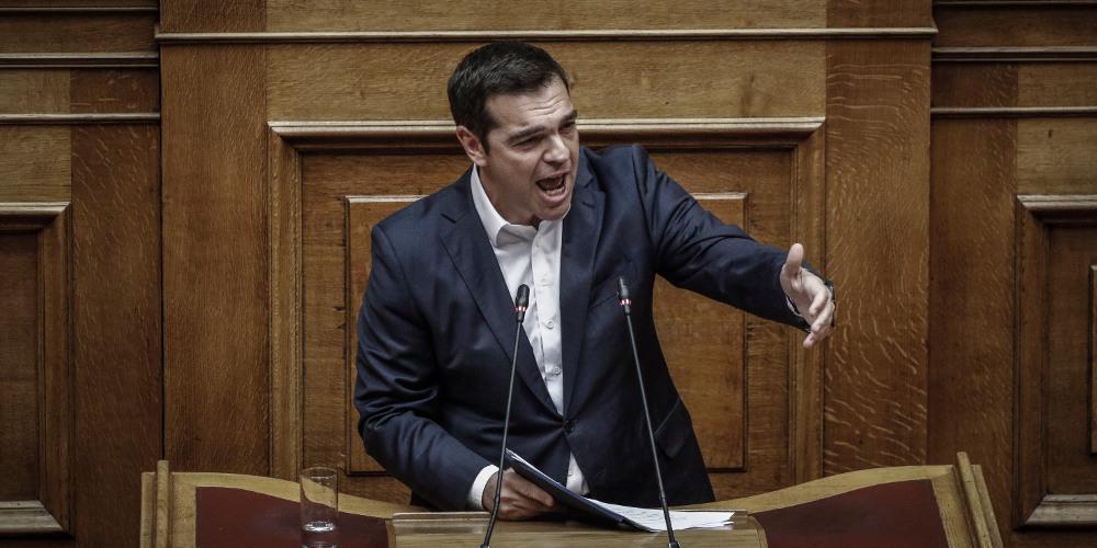 Ο Τσίπρας... θυμήθηκε να καταδικάσει τις απειλές που δέχθηκε ο Μητσοτάκης από τον Ρουβίκωνα