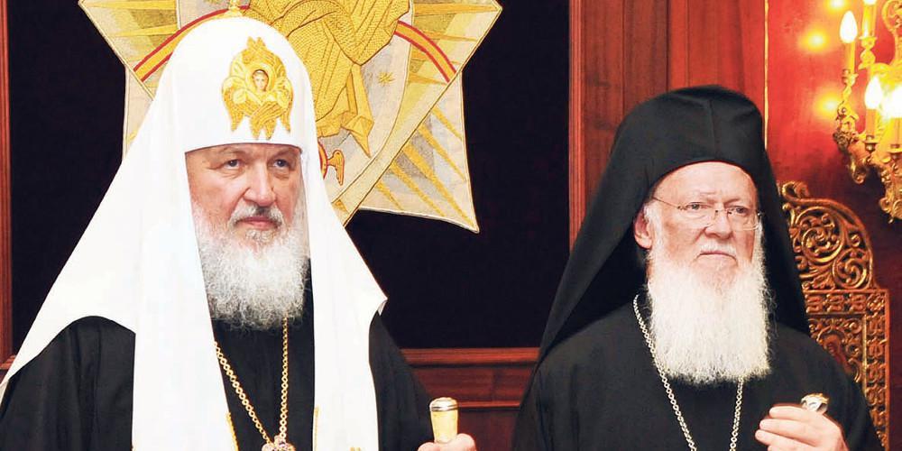 «Ιερός πόλεμος» Φναριού-Μόσχας με φόντο την Ουκρανική εκκλησία