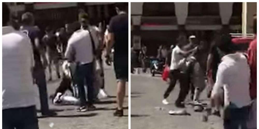 Περαστικός ξυλοφορτώνει Πακιστανό κλέφτη στη Θεσσαλονίκη [βίντεο]