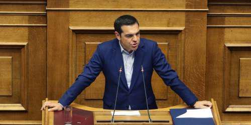 Προεκλογικό σόου από τον Τσίπρα στη Βουλή για τον προϋπολογισμό
