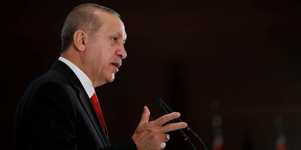 Το βιολί του Ερντογάν: Η Δύση τάσσεται στο πλευρό των τρομοκρατών και μας επιτίθενται όλοι μαζί