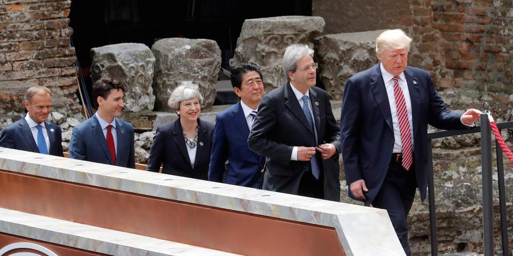 Πολεμικές δηλώσεις έναρξης στην G7 - Και στο... βάθος G6;