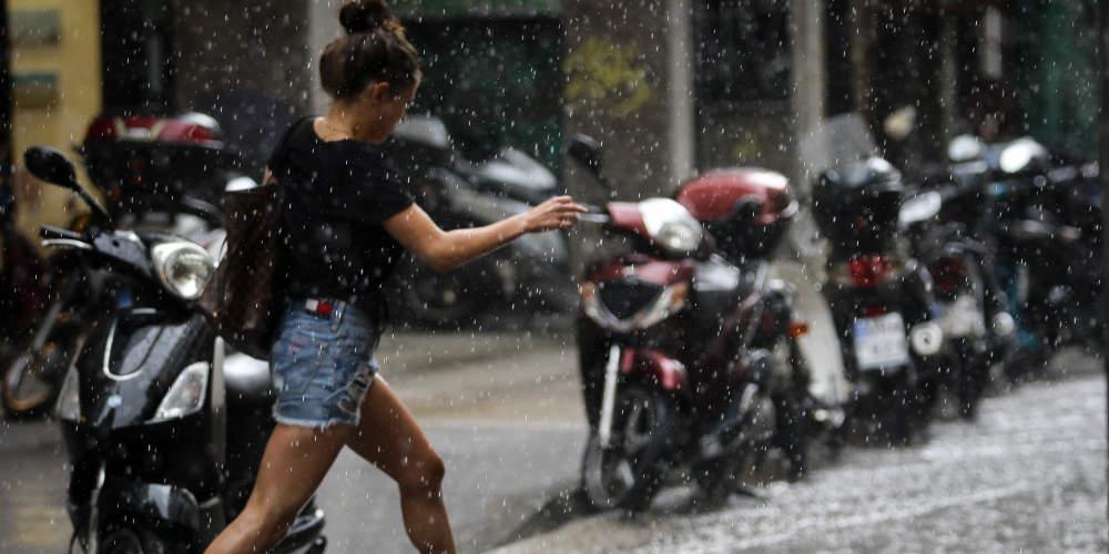Πρόγνωση καιρού: Συνεχίζεται η άνοδος της θερμοκρασίας αλλά με τοπικές βροχές