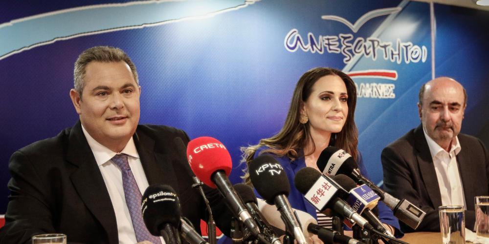 Καμμένος για Σκοπιανό: Δεν ψηφίζω την συμφωνία – Δεν θα γίνει δεκτή στην πΓΔΜ