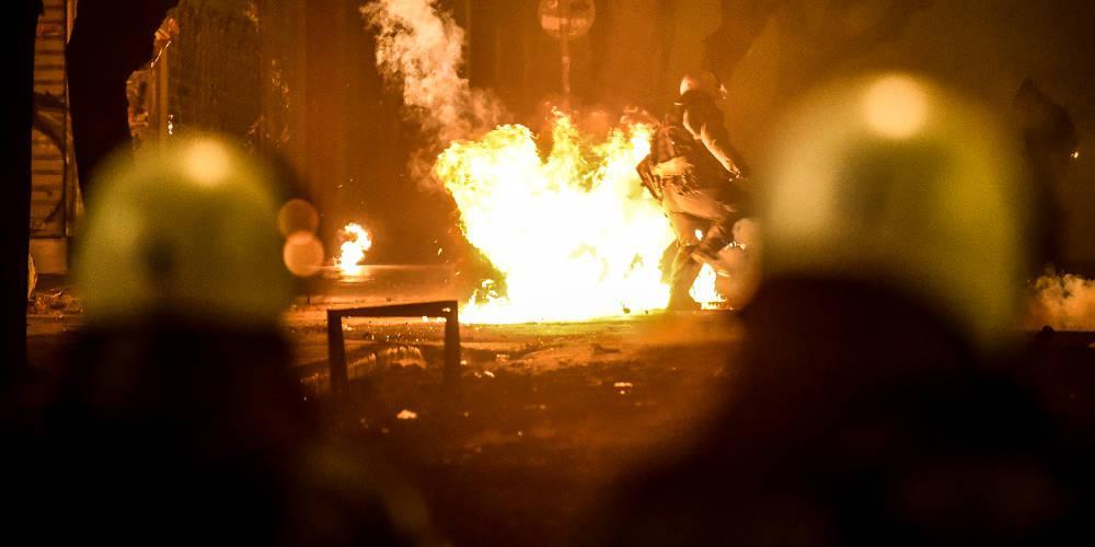 Ανάληψη ευθύνης για την επίθεση σε κλούβα των ΜΑΤ στην Θεσσαλονίκη