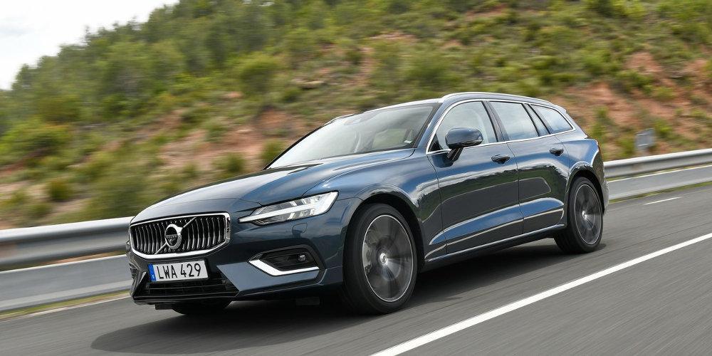 Πρώτη δοκιμή του νέου Volvo V60 στην Ισπανία