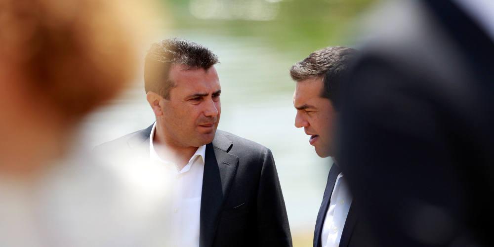 «Βόμβα» στο Σκοπιανό: Ο Ζάεφ θα παραιτηθεί εάν χάσει στο δημοψήφισμα