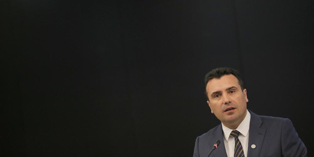 «Βόμβα» του Ζάεφ: Παγώνουμε τη Συμφωνία των Πρεσπών μετά το μπλόκο της ΕΕ