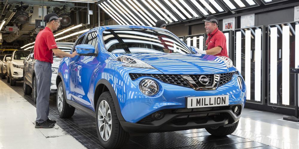Η παραγωγή του Nissan Juke έφθασε το 1 εκατ. αντίτυπα