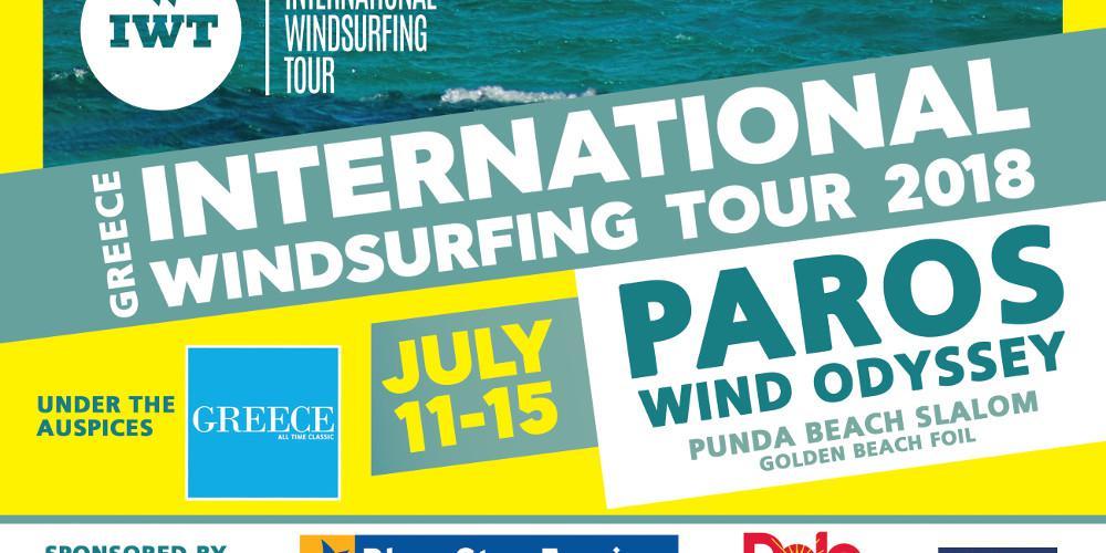 Για πρώτη φορά στην Ελλάδα και στην Πάρο το International Windsurfing Tour,