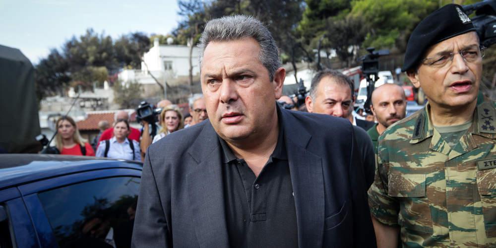 Καμμένος από τα ελληνοσκοπιανά σύνορα: Η Μακεδονία είναι μία και ελληνική [βίντεο]