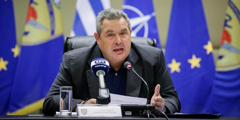 Καμμένος για plan b για το Σκοπιανό: Το ξέρει ο πρωθυπουργός αλλά δεν το εγκρίνει