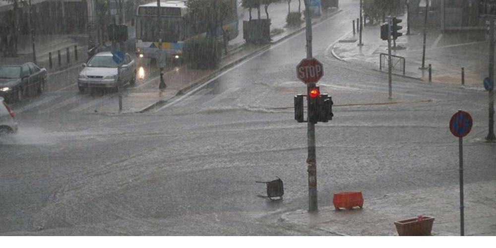 Πρόγνωση καιρού: Καταιγίδες και χαλάζι από το μεσημέρι σε Αττική και πολλές άλλες περιοχές στην Ελλάδα
