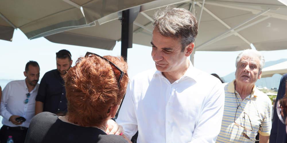 Μητσοτάκης: Όσο η κυβέρνηση επενδύει στο διχασμό, τόσο εγώ θα μιλάω για το αύριο