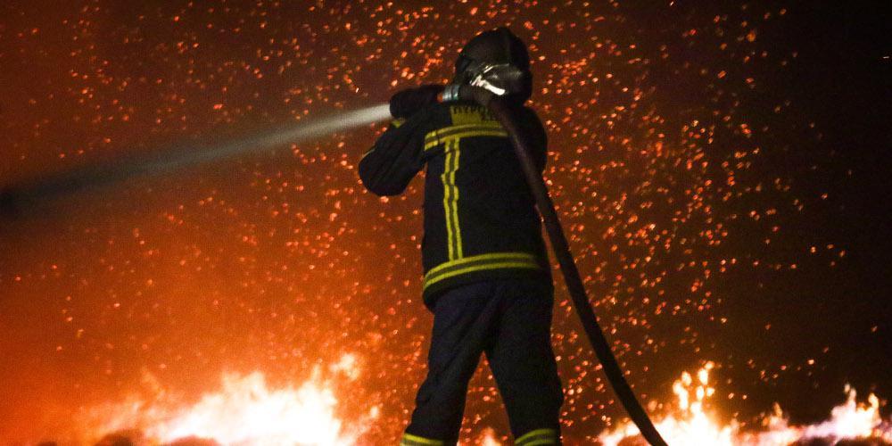 Προειδοποίηση : Σοβαρός κίνδυνος πυρκαγιάς και την Τετάρτη