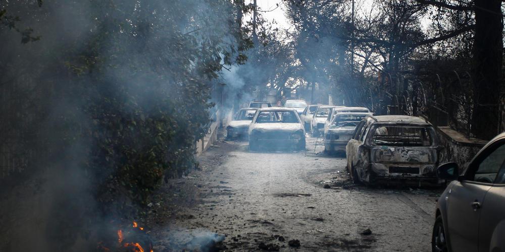Γερμανικά ΜΜΕ για τις πυρκαγιές: Θάνατος, ερείπια και οργή