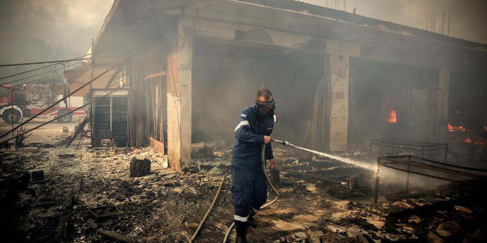 Από στύλο της ΔΕΗ ξεκίνησε η πυρκαγιά στην Κινέτα - Τι αναφέρει το πόρισμα