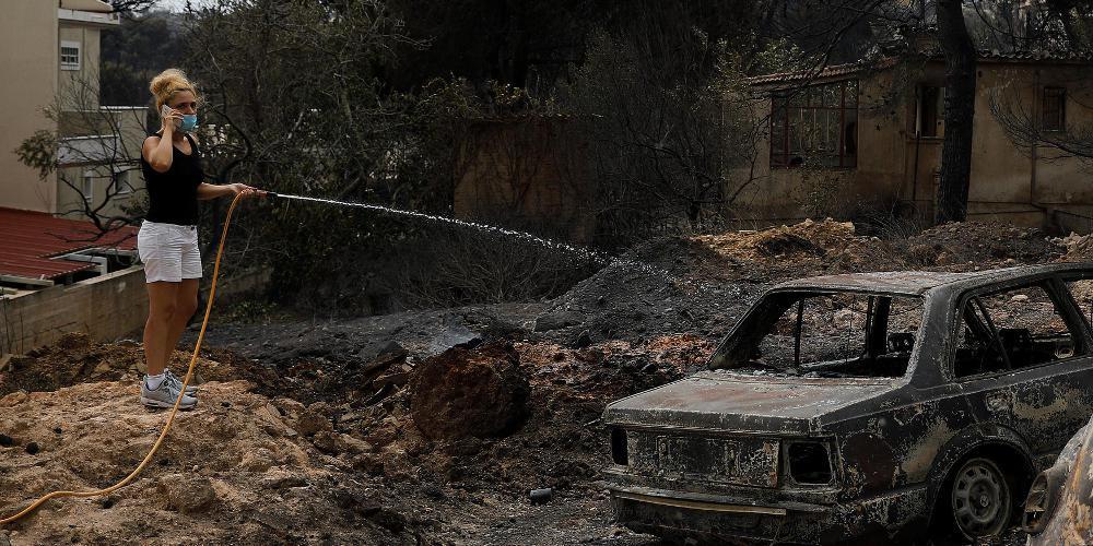 DW: Το Βερολίνο δηλώνει έτοιμο να βοηθήσει την Ελλάδα για τις πυρκαγιές