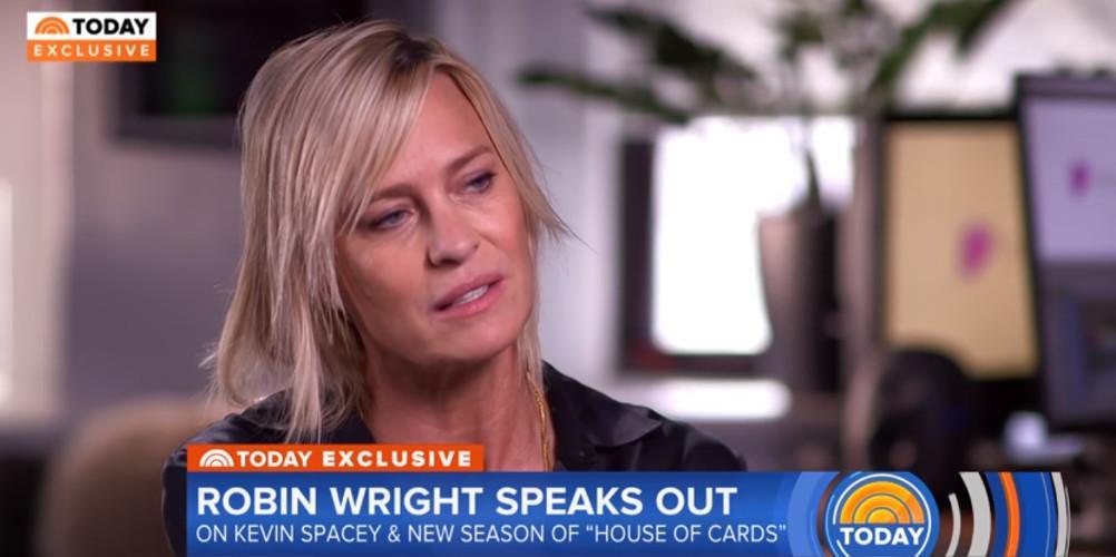 Η Ρόμπιν Ράιτ σπάει τη σιωπή της για τον Κέβιν Σπέισι [βίντεο]