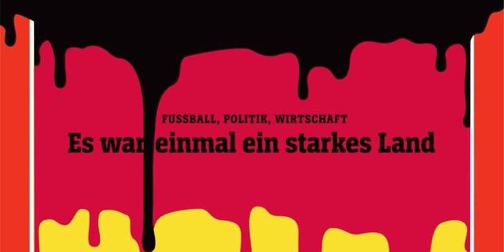 Σκληρό εξώφυλλο του Spiegel για την Μέρκελ με την γερμανική σημαία να λιώνει