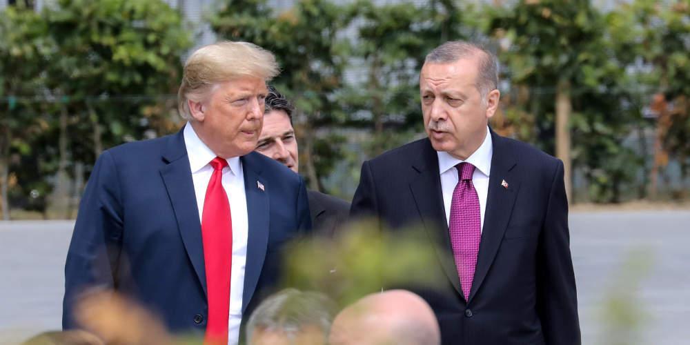 Το είπε και αυτό ο Τραμπ: Τα πάω καλύτερα με κακούς και σκληρούς ηγέτες όπως ο Ερντογάν