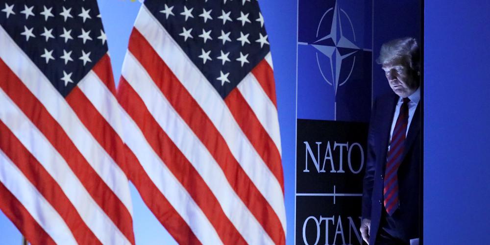 Τραμπ: Το ΝΑΤΟ χρηματοδοτείται καλύτερα μόνο χάρις σε εμένα