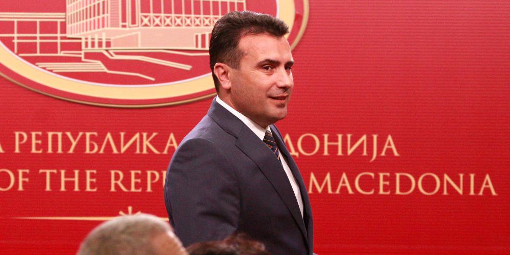 Ο Ζάεφ λέει τώρα ότι θα εφαρμόσει «πλήρως τη συμφωνία των Πρεσπών»