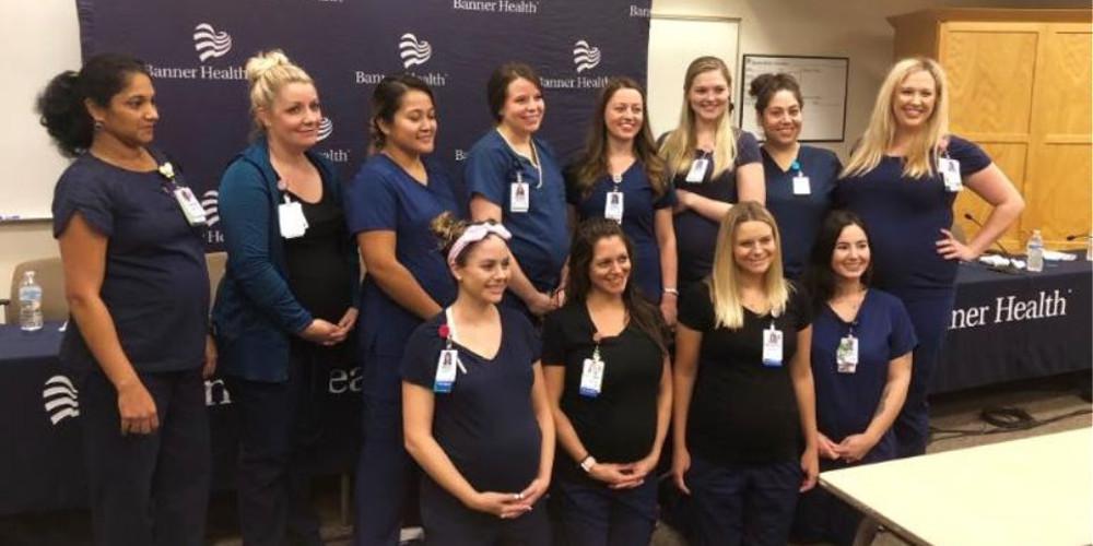 Απίστευτο: 16 νοσηλεύτριες έμειναν σχεδόν ταυτόχρονα έγκυες
