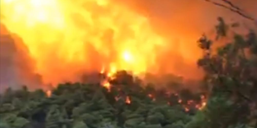 Νέα, μεγάλη πυρκαγιά στην Κρήτη