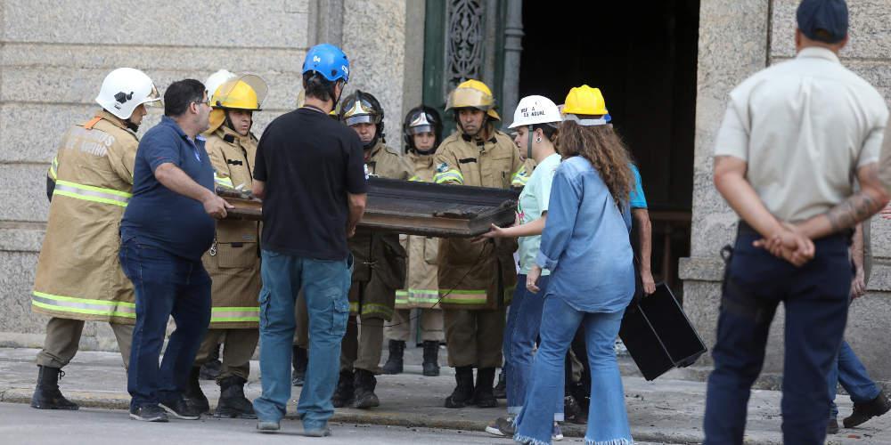 Η Λουζία χάθηκε στην πυρκαγιά του Εθνικού Μουσείου 12.000 χρόνια μετά τον θάνατό της