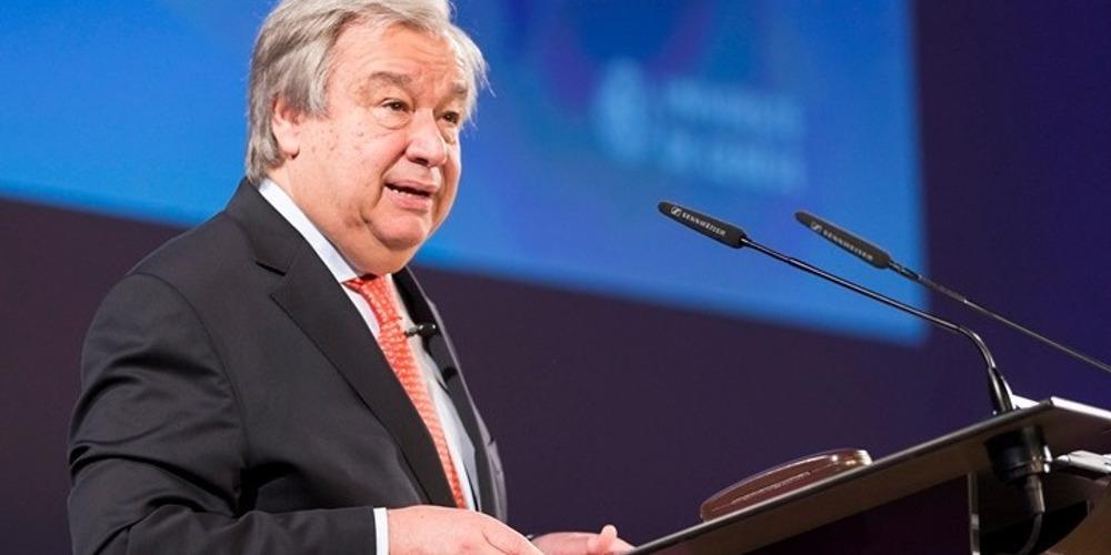 Γκουτέρες για Σκοπιανό: Ελπίζουμε ότι η Συμφωνία των Πρεσπών θα κυρωθεί και στις δύο χώρες