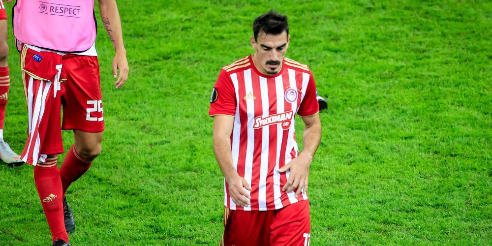 Επέστρεψε ο Χριστοδουλόπουλος στην αποστολή του Ολυμπιακού μετά από 10 μήνες
