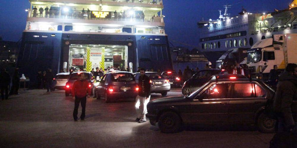 Τηλεφώνημα για βόμβα στο πλοίο «Ανδρέας Κάλβος» στην Κυλλήνη