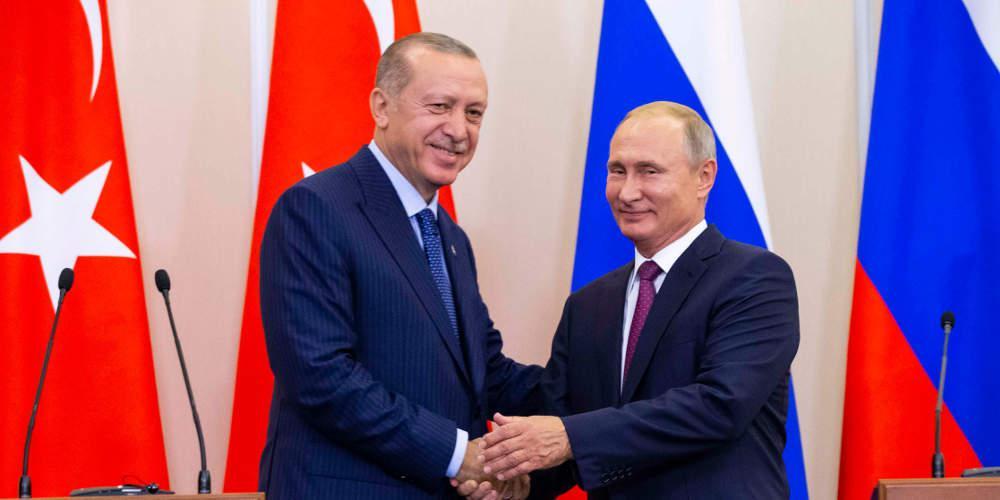 Εκεχειρία στη Λιβύη ζητούν Πούτιν-Ερντογάν