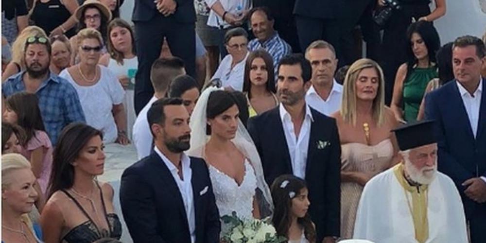 Δείτε βίντεο από τον γάμο της χρονιάς, ανάμεσα στον Σάκη Τανιμανίδη και τη Χριστίνα Μπόμπα!