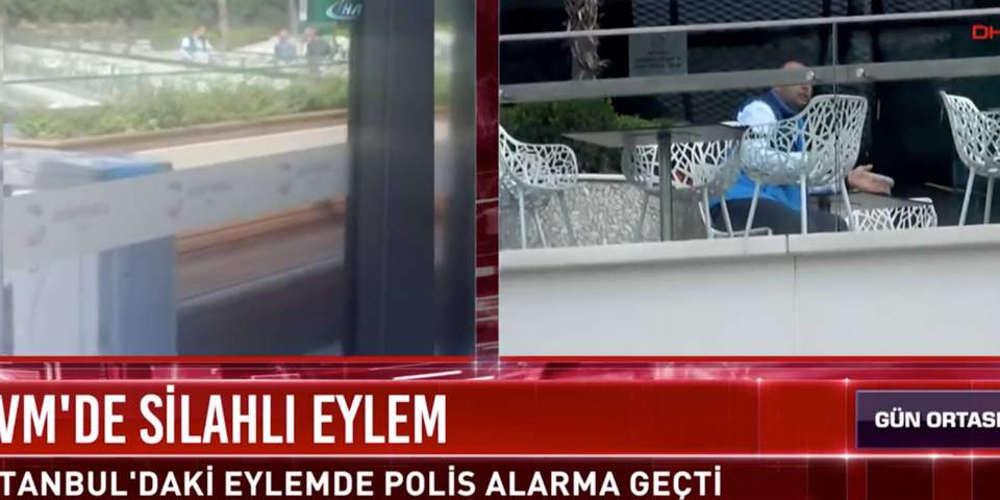 Παραδόθηκε ο ένοπλος που είχε ταμπουρωθεί σε εμπορικό κέντρο στην Τουρκία