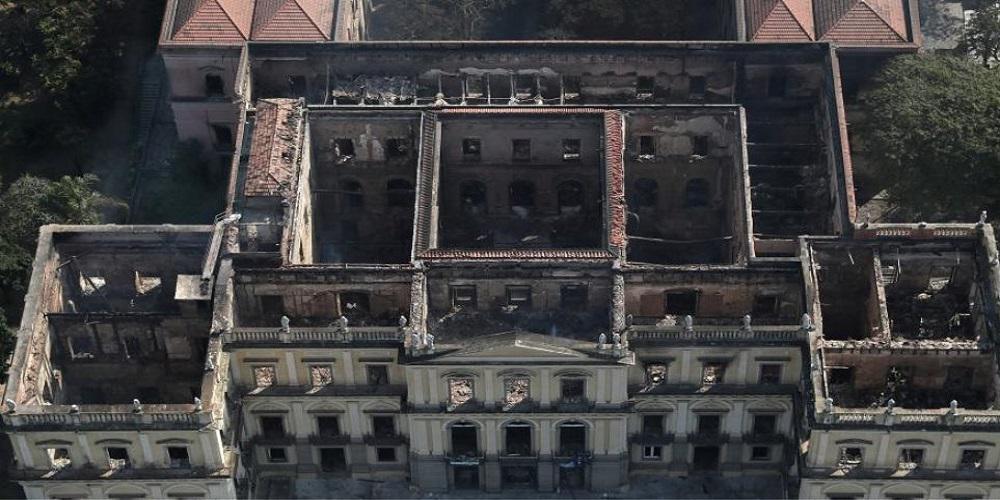 Μακάβριο εύρημα στα αποκαΐδια του βραζιλιανικού Εθνικού Μουσείου - Κρανίο που ίσως ανήκει στη Λουζία