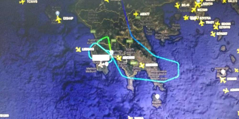 Θρίλερ στον αέρα της Καλαμάτας για επιβάτες πτήσης της Easy Jet λόγω του «Ζορμπά»