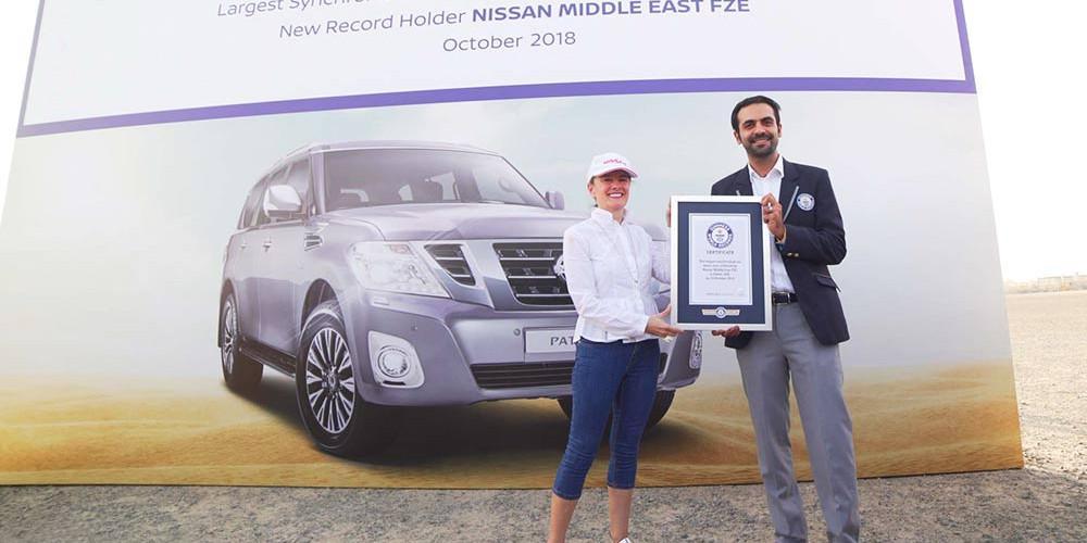 Ρεκόρ Guinness για το Nissan Patrol [βίντεο]