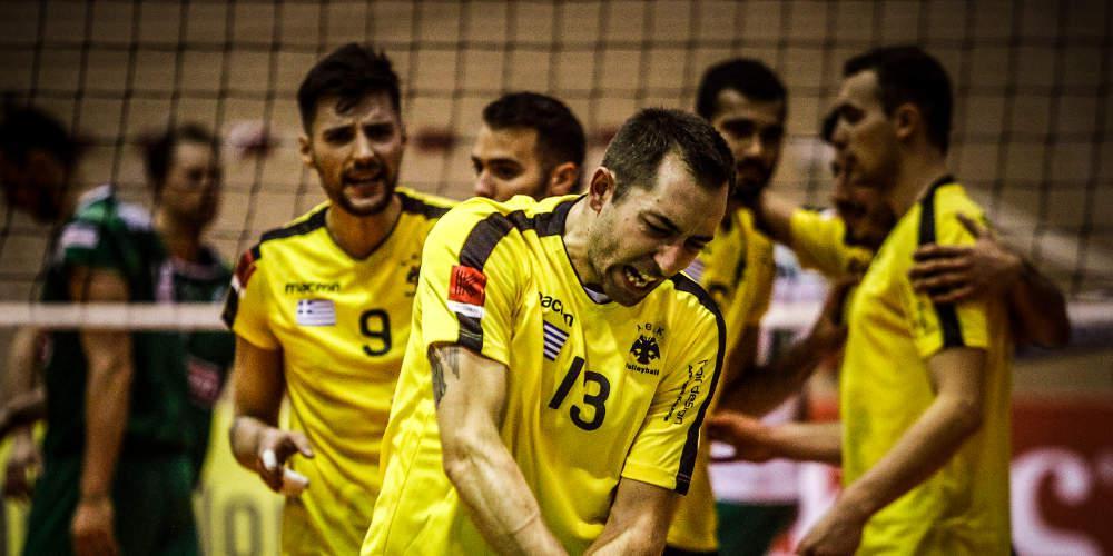 Volley League: Πήρε τη νίκη η ΑΕΚ στο ντέρμπι-θρίλερ με τον Παναθηναϊκό