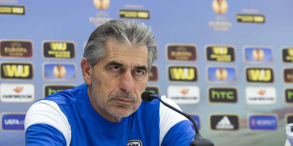 Αναστασιάδης: Θα ματώσουμε στο γήπεδο, δεν φοβόμαστε την Ιταλία [βίντεο]