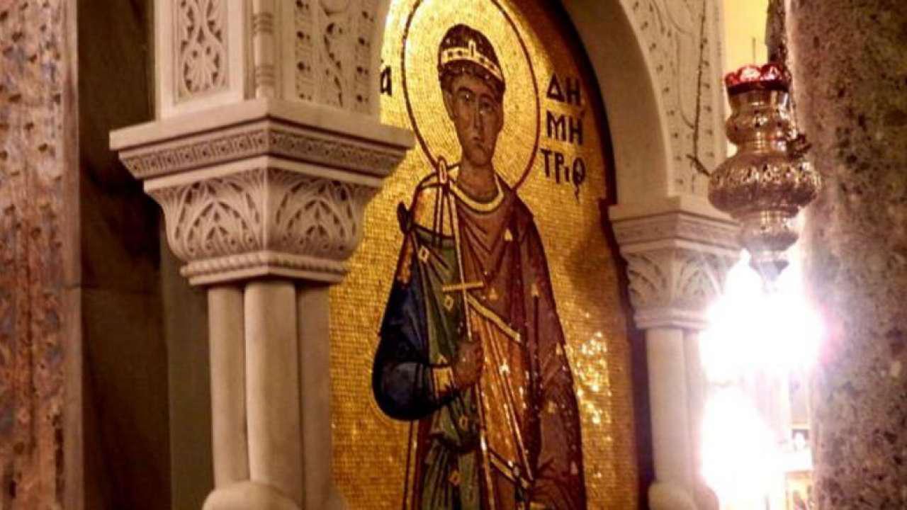 """Αποτέλεσμα εικόνας για αγιος δημητριος καβαλλαρης"""""""