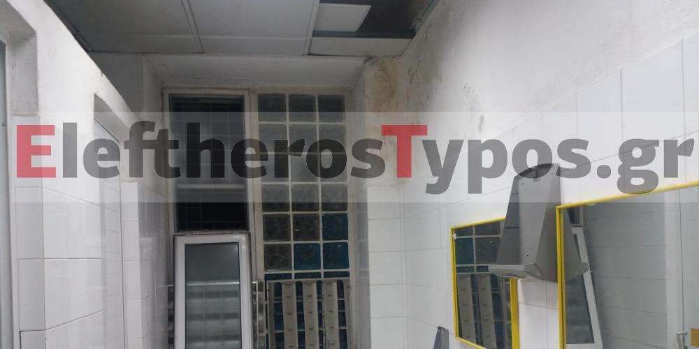 Καταγγελία στο EleftherosTypos.gr: Εικόνες καταστροφής στον Ευαγγελισμό