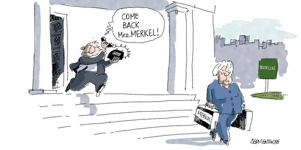 Η γελοιογραφία της ημέρας από τον Γιάννη Δερμεντζόγλου - Τρίτη 30 Οκτωβρίου 2018